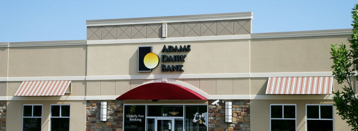 Adams Dairy Bank merger with Equity Bank