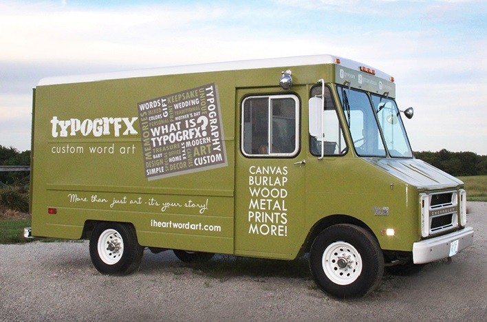 Kansas City's TYPOGRFX Rolls Out Mobile Showroom