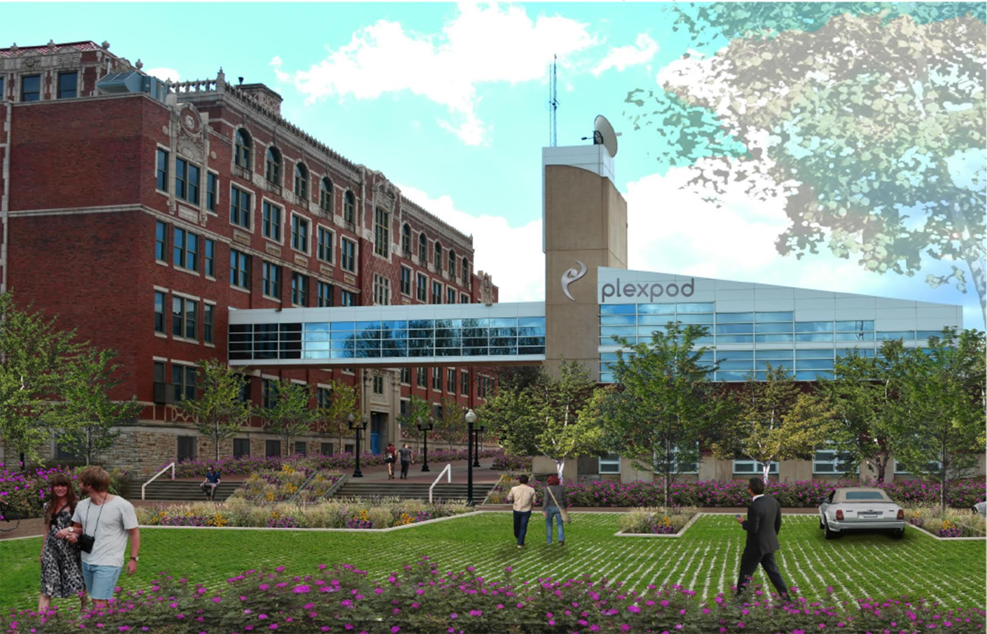 Westport Commons Could Become the World's Biggest Coworking Space