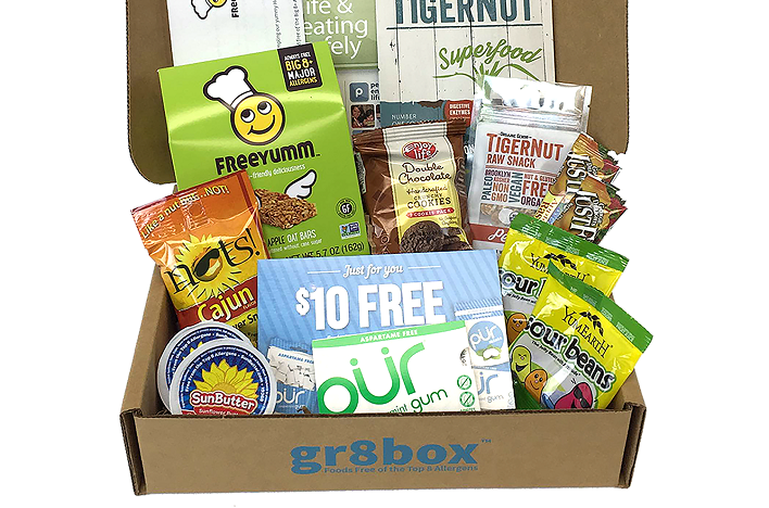 Gr8box Launches Subscription-Box Service for People With Food Allergies