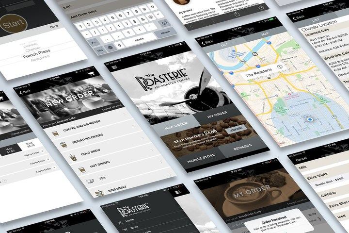 The Roasterie Launches New Mobile App