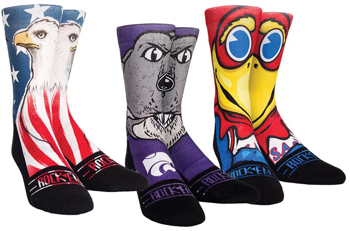Socks That Sock Some Attitude