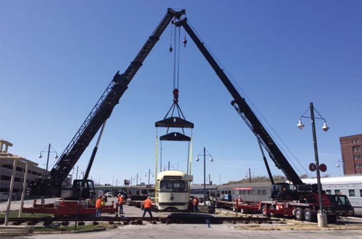 Belger Cartage Cranes Toward 100