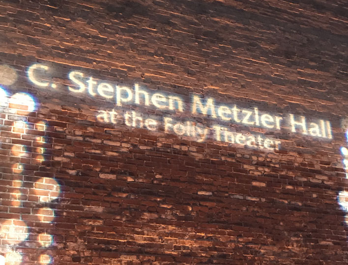 Folly Theater Renames Hall to Honor C. Stephen Metzler