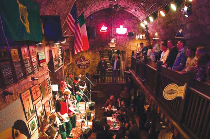 O'Malley's Pub Thrives as an Underground Attraction