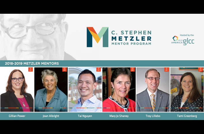 Applications open for Metzler Mentor Program from Mid-America Gay and Lesbian Chamber