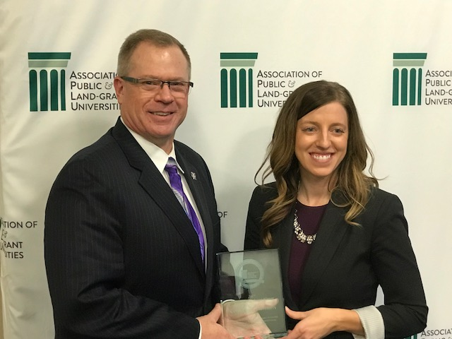 National university group salutes K-State's entrepreneurship efforts