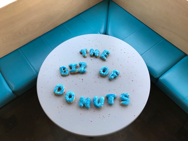 Business panel delves into doughnuts