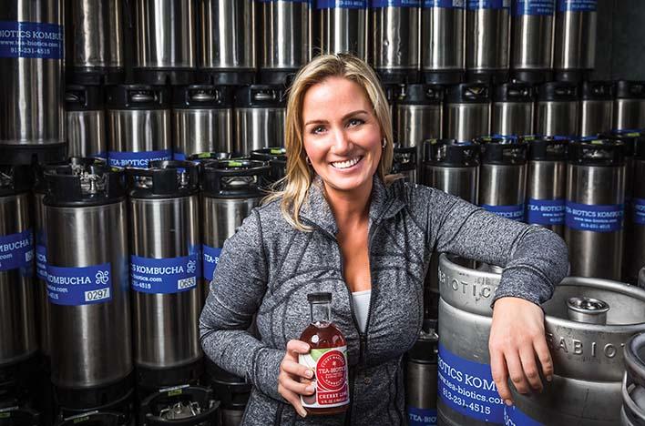 Tea-Biotics: Kombucha maker rapidly multiplies output