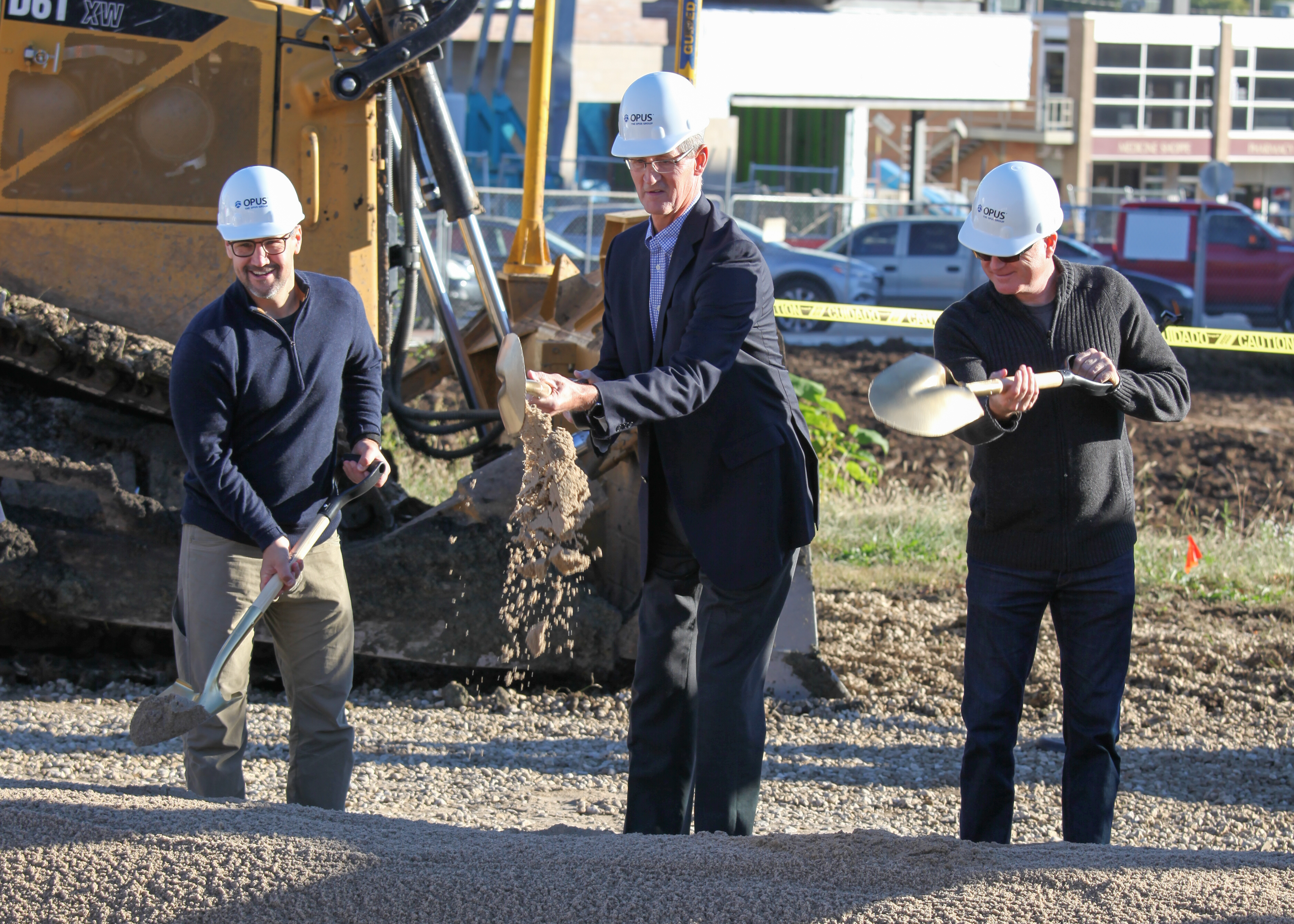 Edison District breaks ground in downtown Overland Park