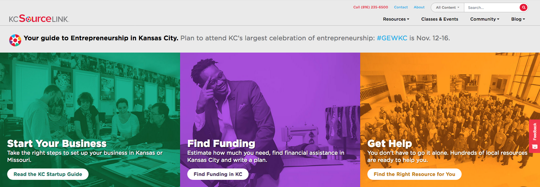 Grant plus matching funds allow KCSourceLink to continue boosting entrepreneurship