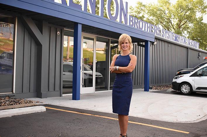 Opening new doors: Gina Stuelke balances change, upholding company history