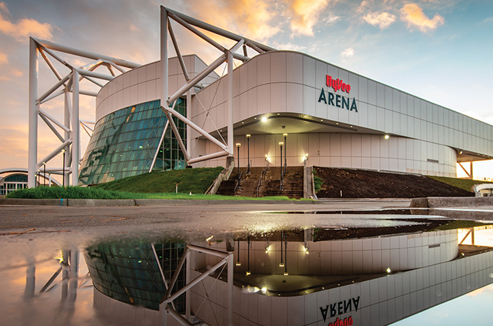 Hy-Vee Arena becomes a new kind of showplace