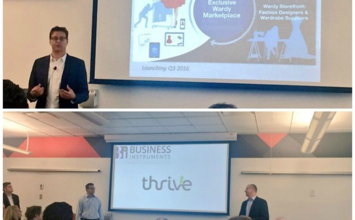 Wardy Thrive Businesses 1 Million Cups