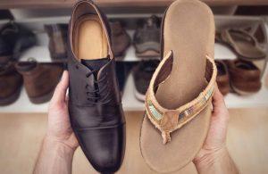 dress code flip flop