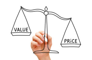 value price scale