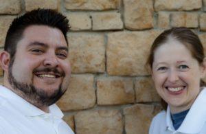 Ronawk co-founders A.J. Mellott and Heather Decker